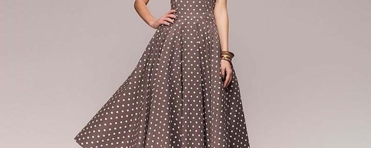 Какие платья бывают и с чем их можно носить?