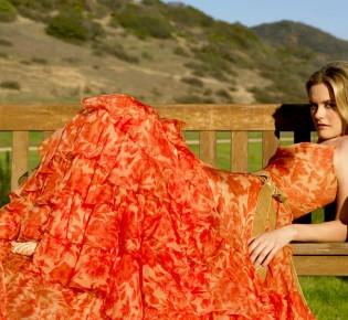 Летняя роскошь: фасоны шифоновых платьев
