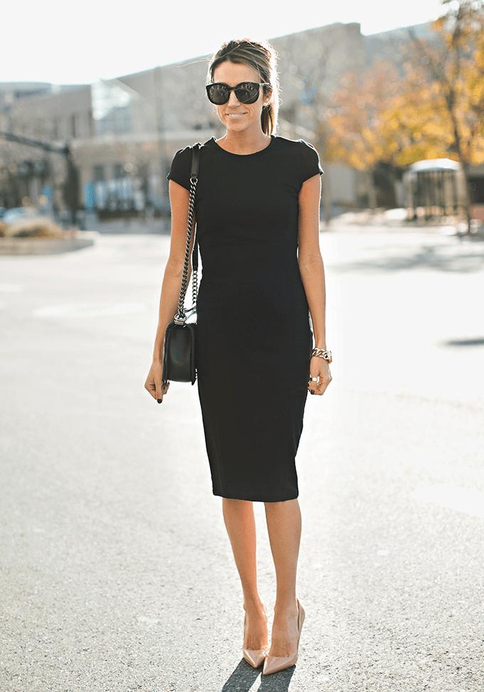 Какую Обувь Носить С Платьем Футляр