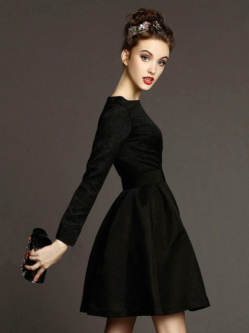 Платье Коко Шанель черное