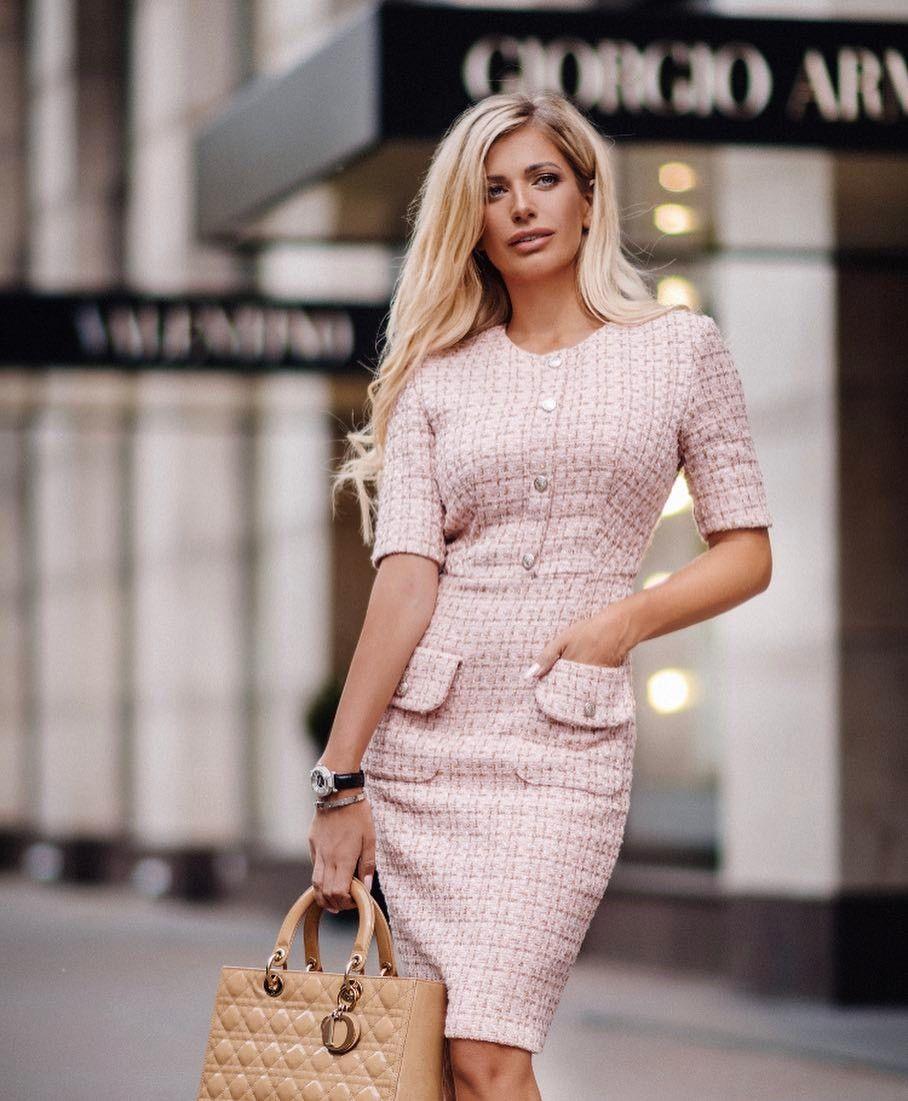 Платье Коко Шанель деловое