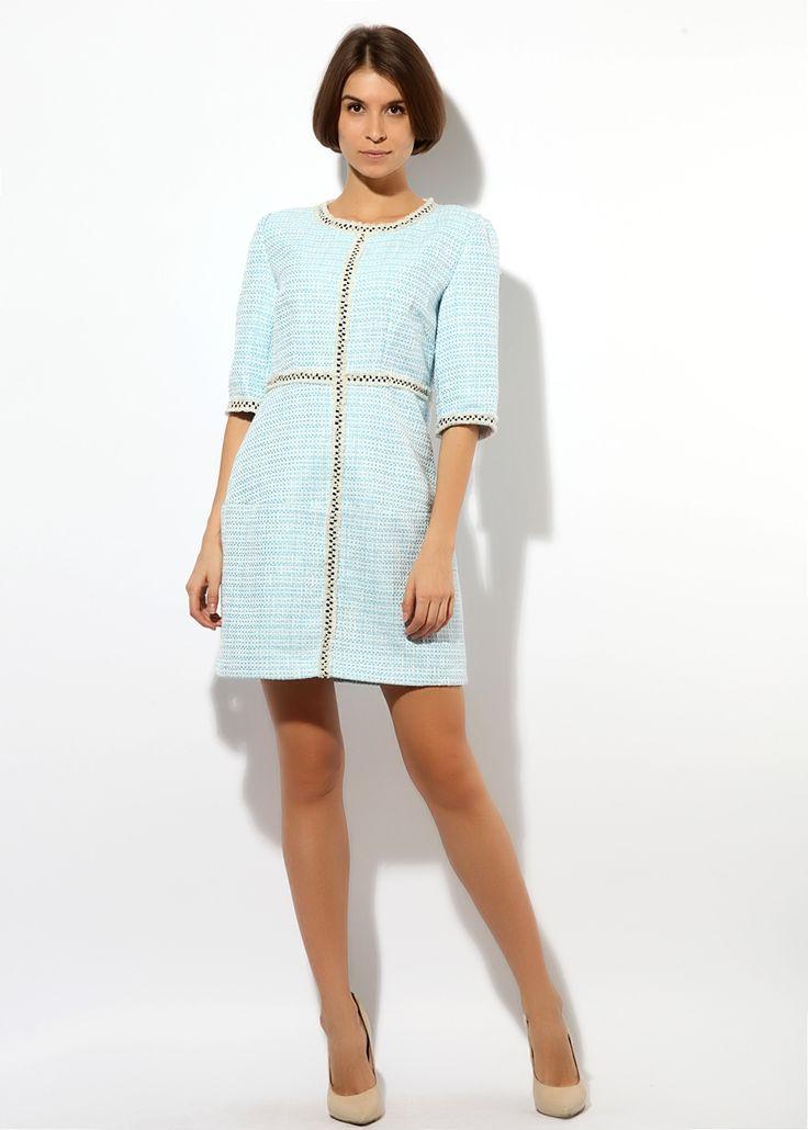 голубое платье Коко Шанель