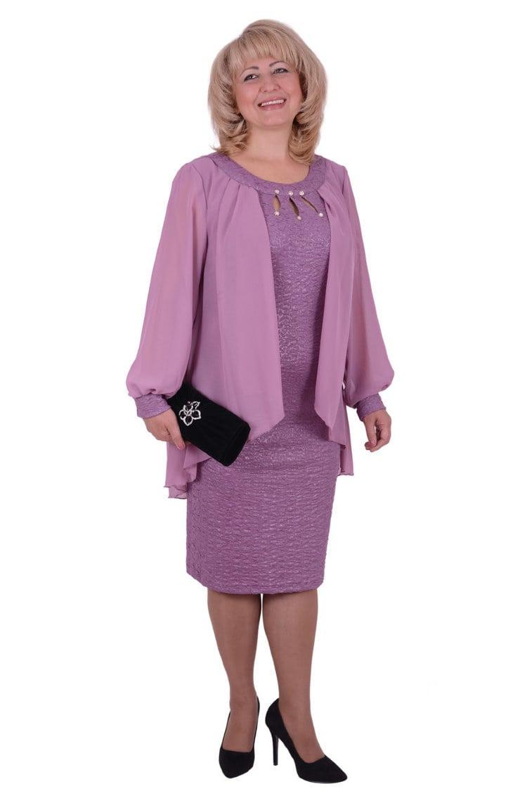 платье для женщины 50 лет