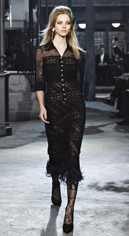 Платье Коко Шанель кружевное