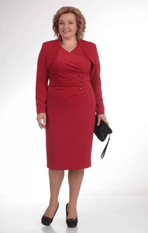 деловое платье для женщины 50 лет