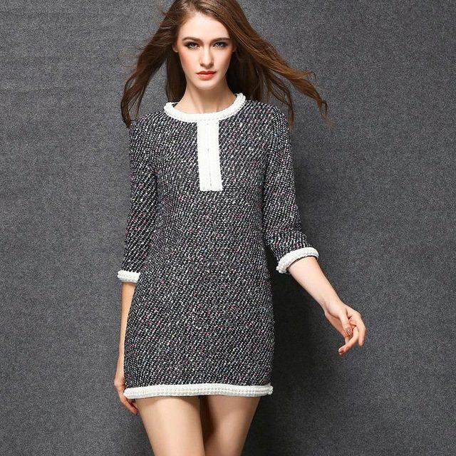 Платье Коко Шанель короткое