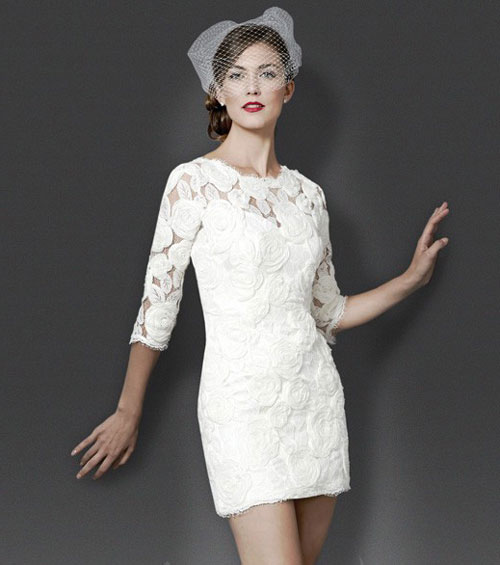 Платье Коко Шанель свадебное