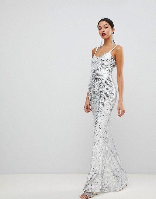 платье с пайетками на свадьбу