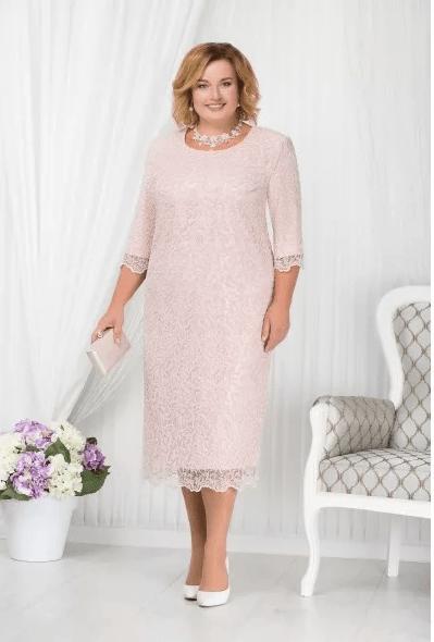 кремовое платье на свадьбу для мамы