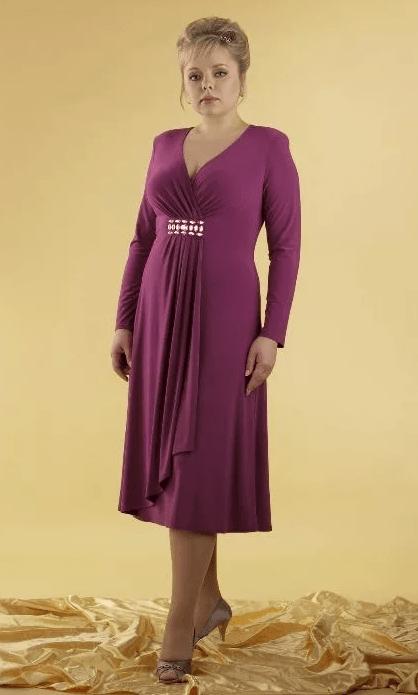 трикотажное платье на свадьбу для мамы