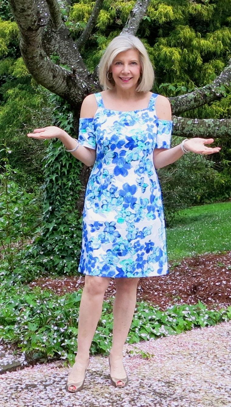цветное летнее платье на свадьбу для мамы