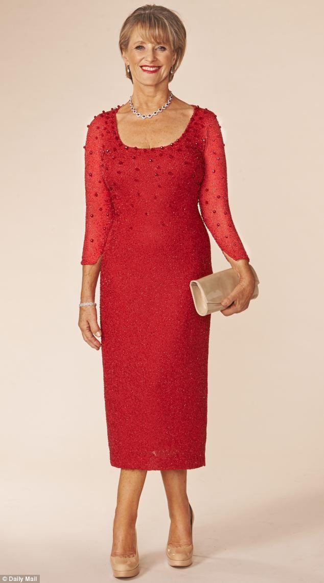 нарядное красное платье на свадьбу для мамы