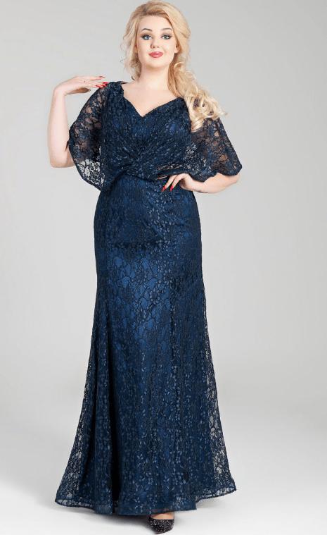 кружевное платье на свадьбу для мамы