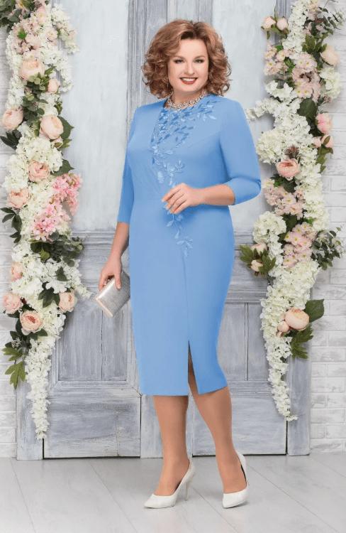 голубое платье на свадьбу для мамы