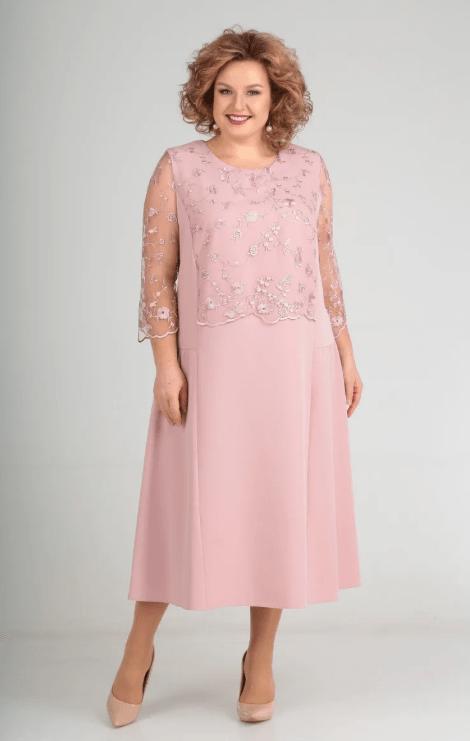 нежное платье на свадьбу для мамы
