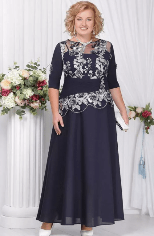 черное платье на свадьбу для мамы