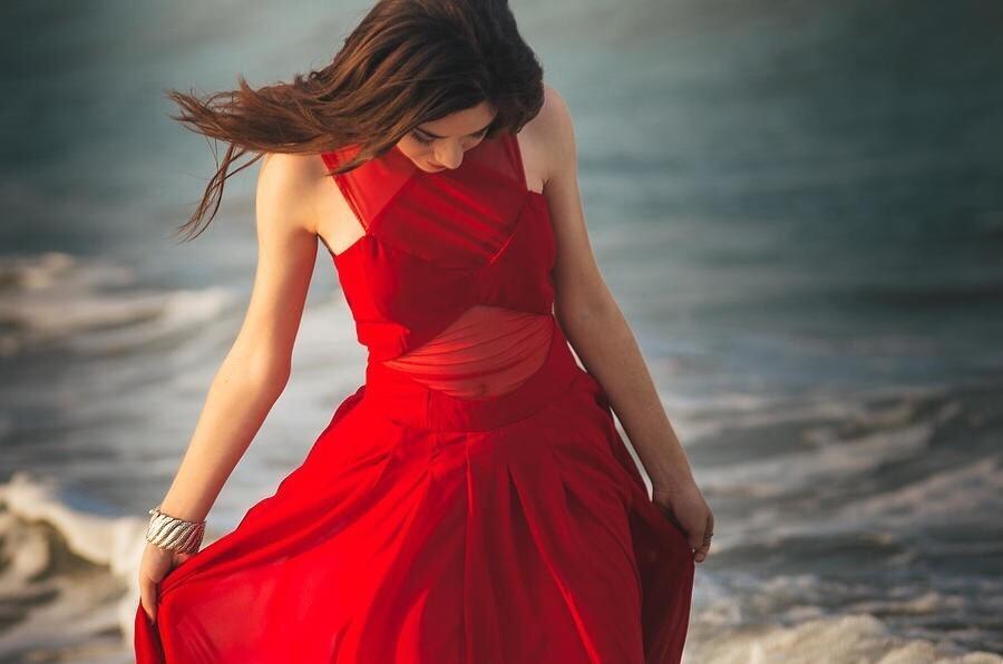 интересный лиф на платье