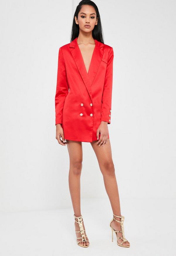 Яркое платье пиджак