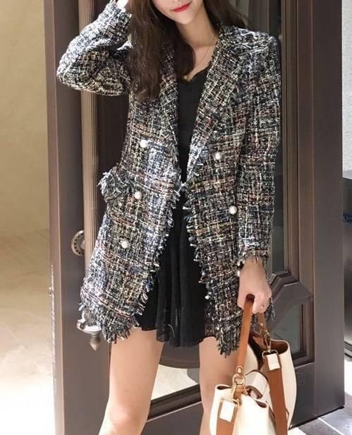 платье с пиджаком шанель