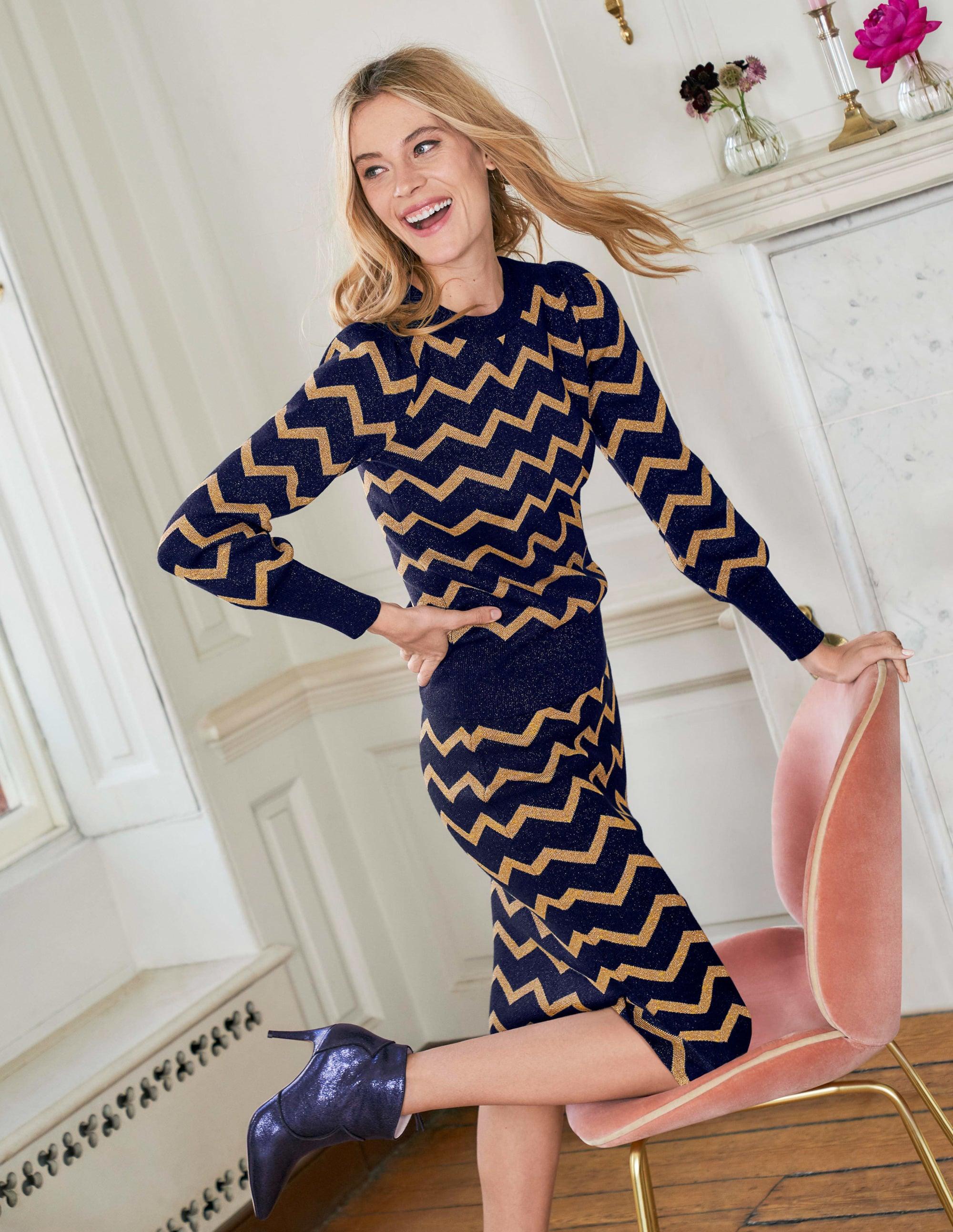 цветное платье с люрексом