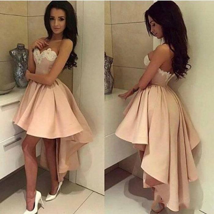 выпускное платье маллет