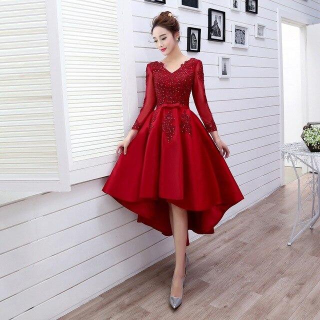 бордовое платье маллет
