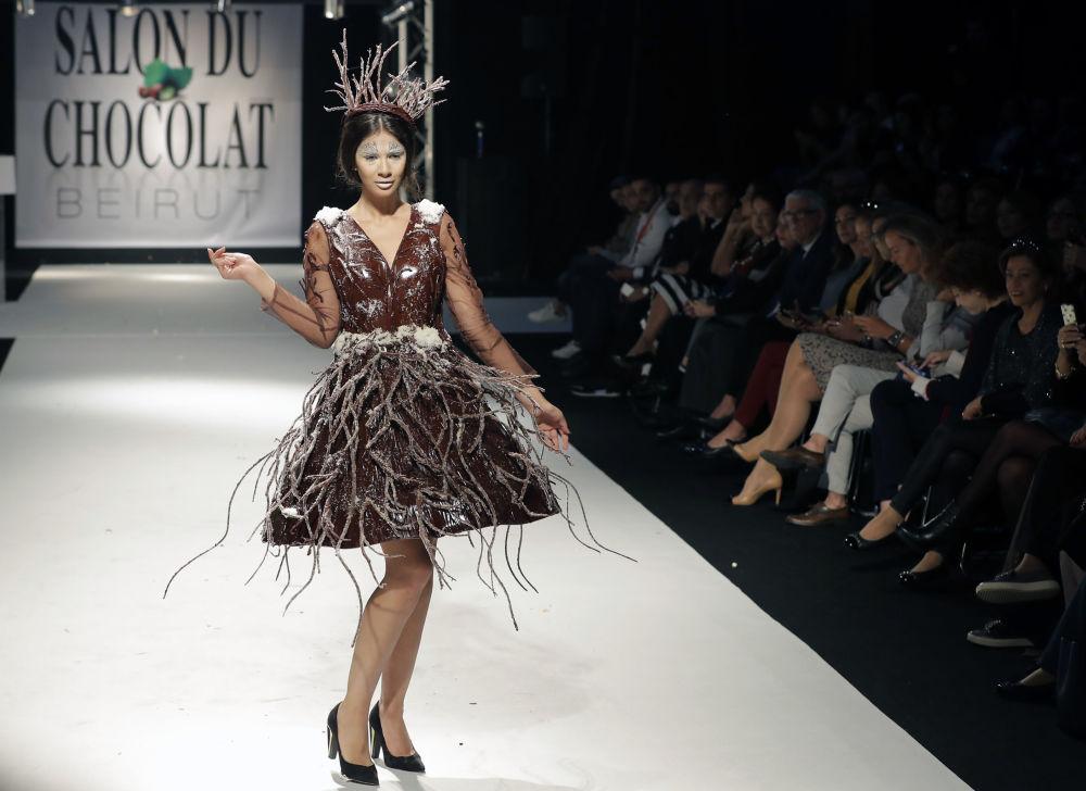 платье из шоко