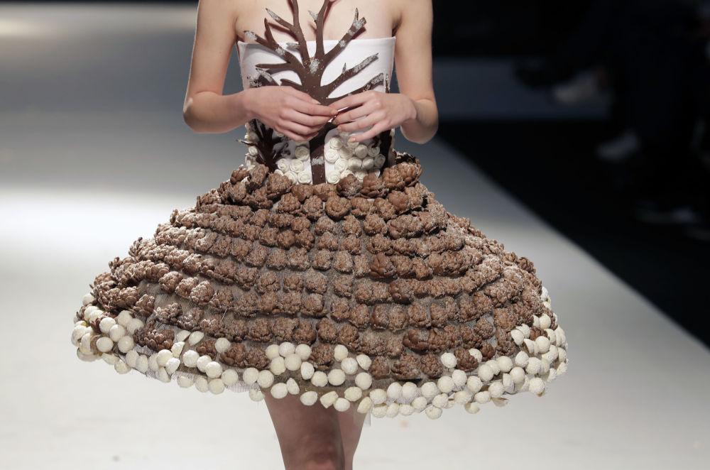 юбка из шоколада