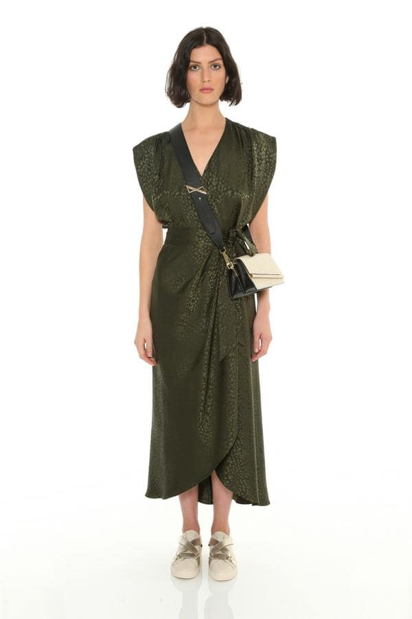 платье кимоно с запахом