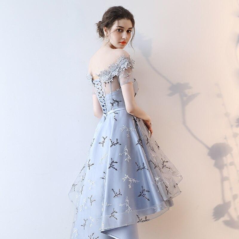 нежное платье короткое спереди длинное сзади
