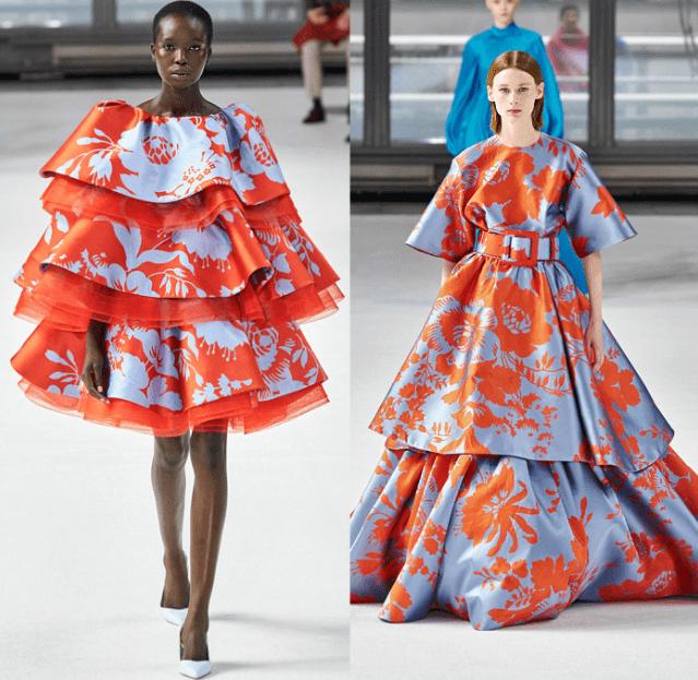 модные платья из жаккарда 2021