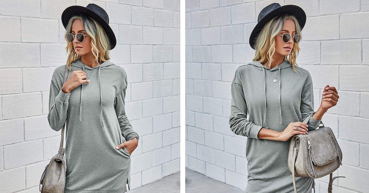 платье с капюшоном и шляпой