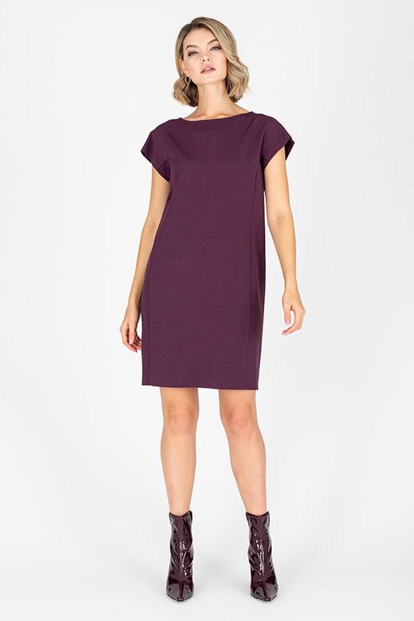 20+ моделей модного платья шифт в 2021 году