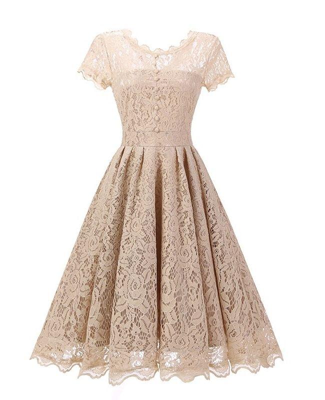 кружевное  винтажное платье