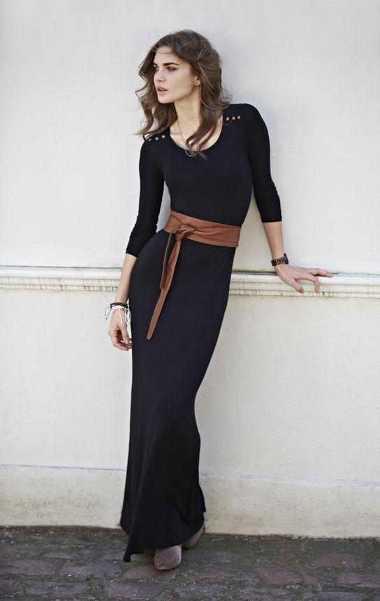 платье лапша с поясом