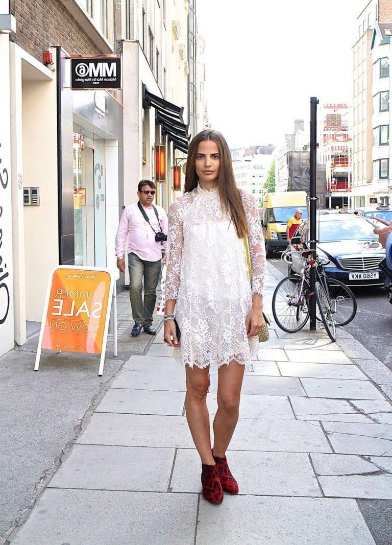 кружевное платье шифт 2021