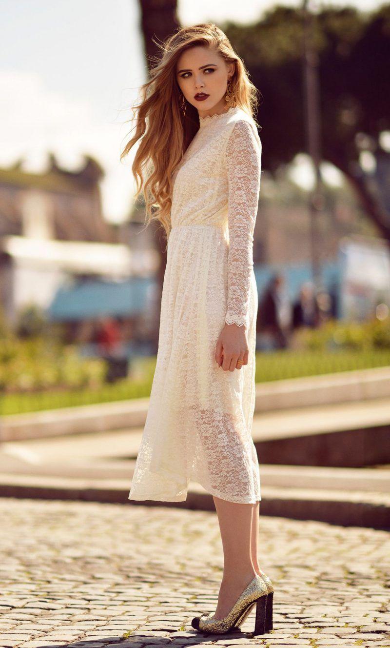 прозрачное  винтажное платье