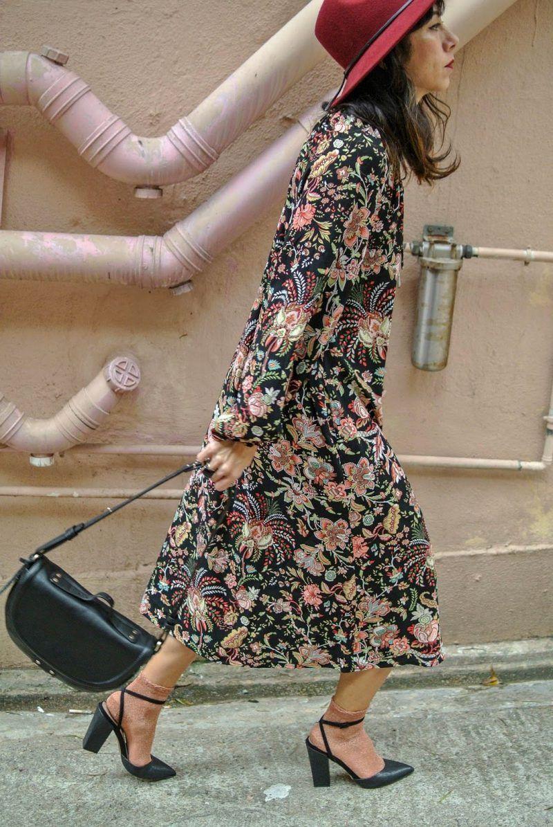 бабушкино  винтажное платье