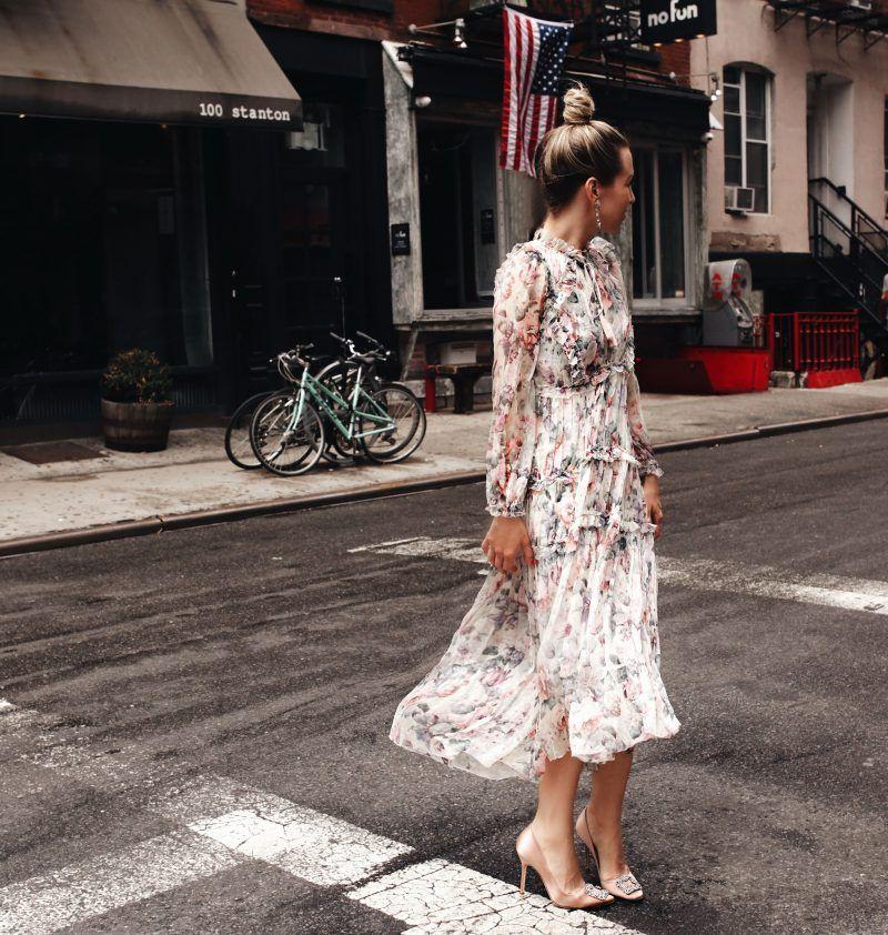 шифоновое  винтажное платье