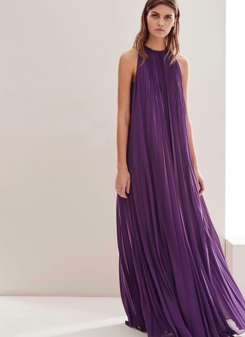 платье для беременной фуксия