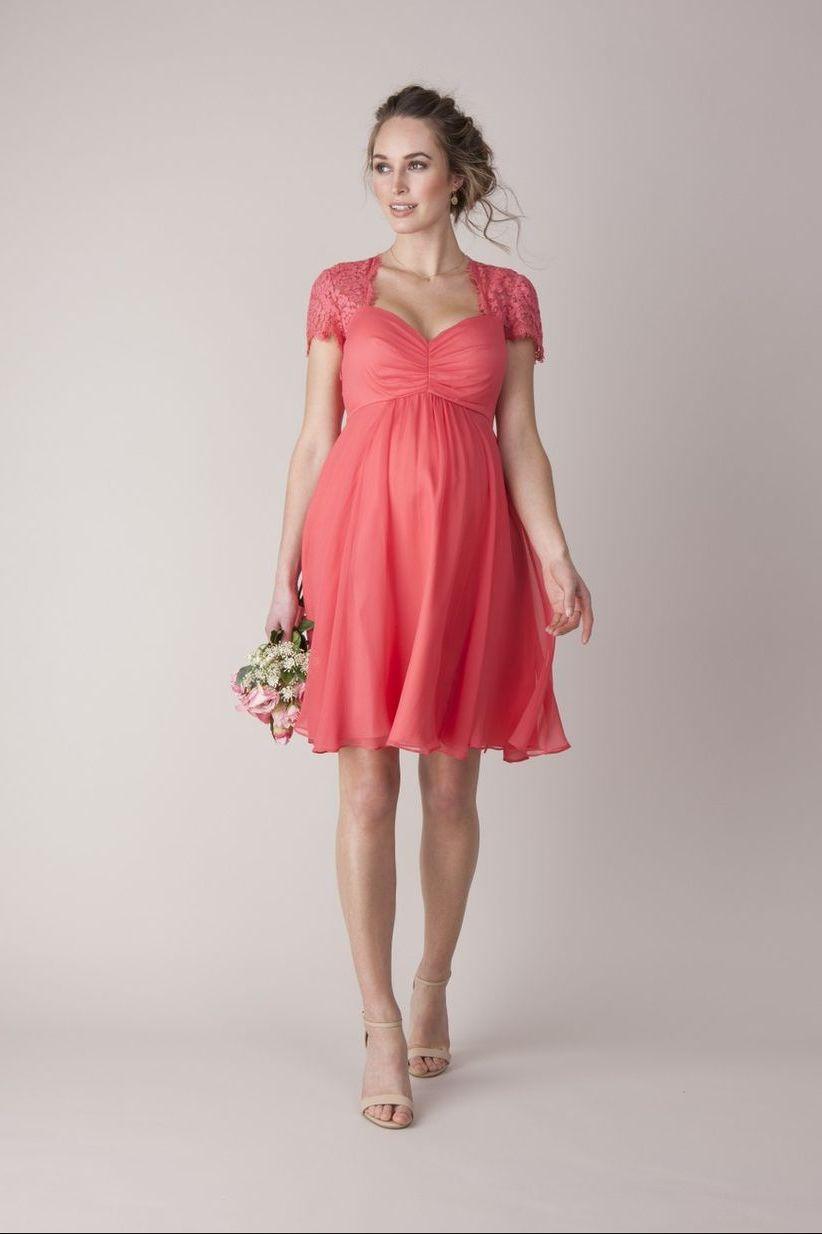 короткое платье для беременной