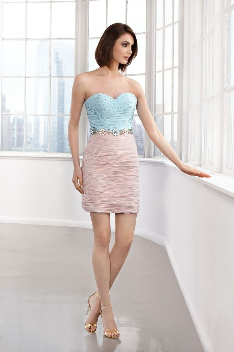 платье для беременной мини
