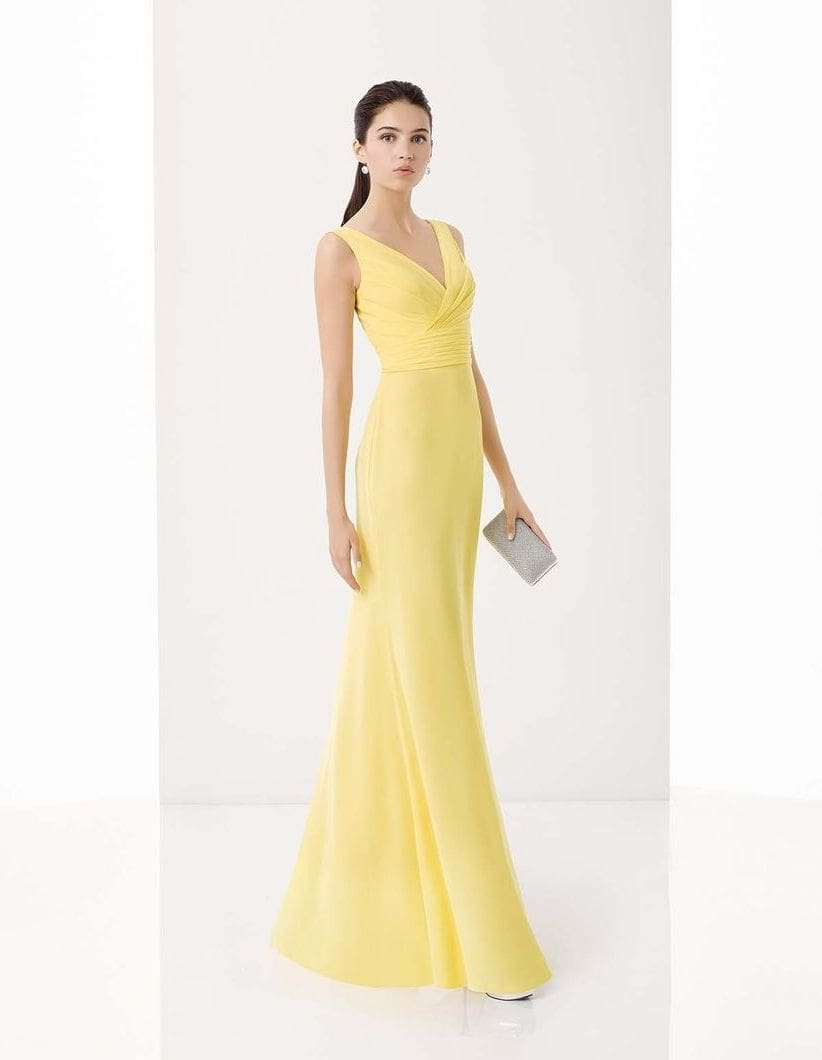 желтое  платье для беременной