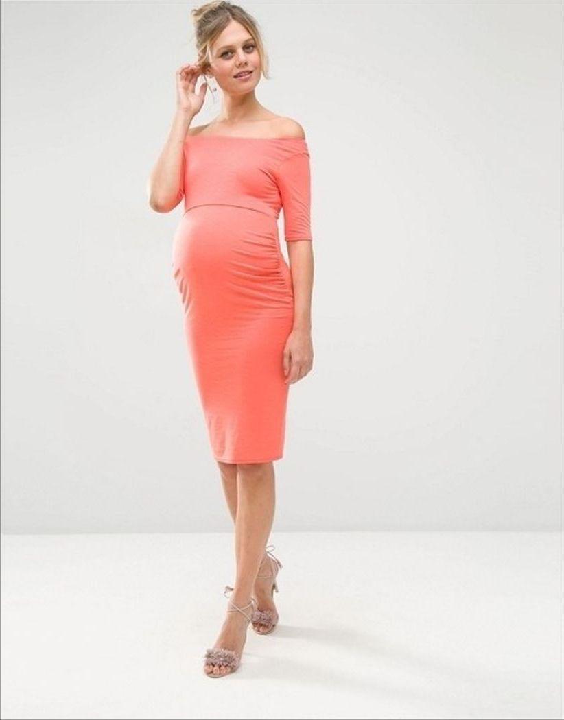 платье для беременной футляр